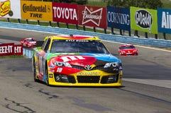 NASCAR 2013:  Série do copo da sprint Cheez-ele 355 em Glen August Fotografia de Stock