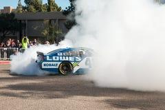 NASCAR ` s吉米约翰逊天在亚利桑那 免版税图库摄影