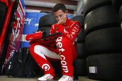 NASCAR : ` S 301 d'Overton du 14 juillet Images libres de droits