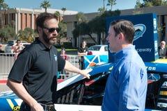 NASCAR`s Jimmie Johnson Day in Arizona Royalty Free Stock Photo