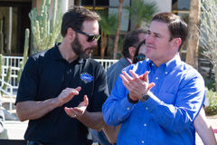 NASCAR`s Jimmie Johnson Day in Arizona Stock Photos