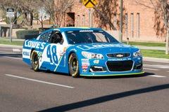 NASCAR-` s Jimmie Johnson Day i Arizona Royaltyfri Foto
