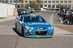 NASCAR-` s Jimmie Johnson Day i Arizona Arkivfoto