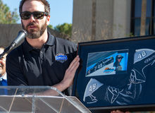 NASCAR-` s Jimmie Johnson Day i Arizona Royaltyfri Foto