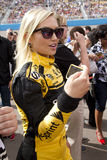 NASCAR's Miss Sprint Cup at Phoenix International Raceway. Miss Sprint Cup at the races Stock Images