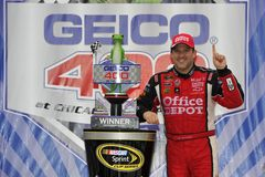 NASCAR:  Sep 19 Geico 400 Stock Photography