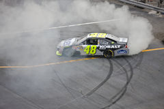 NASCAR:  Sep 26 AAA 400. DOVER, DE - SEP 26, 2010:  Jimmie Johnson wins the AAA 400 race at the Dover International Speedway in Dover, DE Stock Images