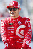 NASCAR: Sep 25 Bad Boy Off Road 300. Loudon, NH - Sep 25, 2016: Kyle Larson (42) gets ready for the Bad Boy Off Road 300 at the New Hampshire Motor Speedway in royalty free stock images