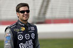 NASCAR: September 05 Pep Boys Auto 500. 05 September, 2009: Martin Truex Jr, driver for the No. 1 Guitar Hero 5 Chevrolet, during qualifying for the Pep Boys royalty free stock image