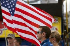 NASCAR:  September 27 AAA 400 Royalty Free Stock Photography