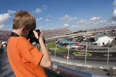 NASCAR:  September 27 AAA 400 Royalty Free Stock Image