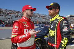 NASCAR: September 25 Badpojke av väg 300 Royaltyfri Fotografi