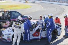 NASCAR: September 25 Badpojke av väg 300 Royaltyfri Bild