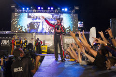 NASCAR: September 12 bildade en förbundsstat auto delar 400 Arkivfoton