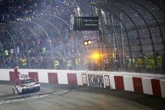 NASCAR: September 09 bildade en förbundsstat auto delar 400 Royaltyfri Bild