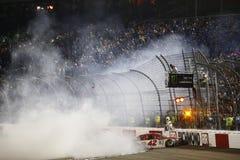 NASCAR: September 09 bildade en förbundsstat auto delar 400 Arkivbild