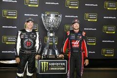 NASCAR: September 09 bildade en förbundsstat auto delar 400 Royaltyfri Fotografi