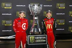 NASCAR: September 09 bildade en förbundsstat auto delar 400 Fotografering för Bildbyråer