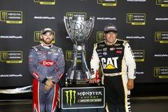 NASCAR: September 09 bildade en förbundsstat auto delar 400 Royaltyfria Bilder