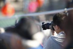 NASCAR: Am 25. September unartiger Junge weg von Straße 300 Lizenzfreie Stockfotos