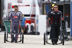 NASCAR: 17 september Verhalen van Schildpadden 400 Royalty-vrije Stock Afbeelding