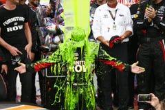 NASCAR: 17 september Verhalen van Schildpadden 400 Royalty-vrije Stock Foto's