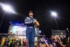 NASCAR: Am 12. September zu einem Bündnis vereinigte Autoteile 400 Lizenzfreie Stockfotos