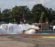 NASCAR 2013:  Serie della tazza di sprint Cheez- 355 a Glen August Fotografia Stock Libera da Diritti