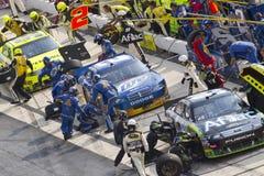 NASCAR: Setembro 26 AAA 400 Fotografia de Stock
