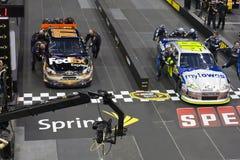 NASCAR: Sfida della squadra di pozzo del 17 maggio Fotografie Stock Libere da Diritti