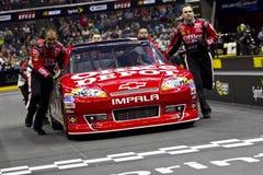 NASCAR: Sfida Stewart della squadra di pozzo Fotografia Stock Libera da Diritti