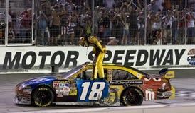 NASCAR: Sharpie 500 del 22 agosto Fotografia Stock