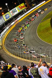 NASCAR - Side by Side in Turn 2 Charlotte Stock Photos
