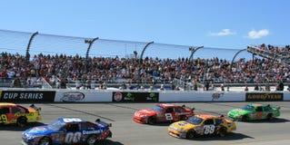 NASCAR smazza il trackside a Richmond immagini stock
