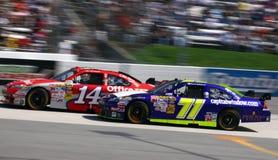 NASCAR - Snelheid! Stock Afbeelding