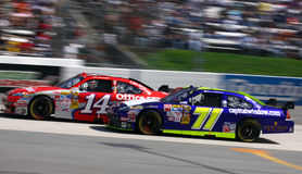 NASCAR - Speed! Stock Image