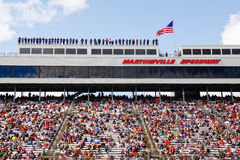 NASCAR - Spotters and Fans at Martinsville Speedwa Stock Photos