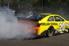 NASCAR Sprint杯追逐司机马特Kenseth 免版税图库摄影