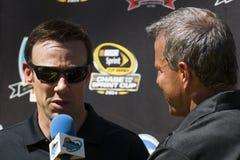 NASCAR Sprint杯追逐司机马特Kenseth 免版税库存图片