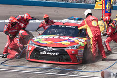NASCAR Sprint杯系列在菲尼斯 库存图片