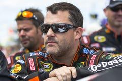 NASCAR 2013:  Sprint ahueca serie GoBowling.com 400 el 4 de agosto Foto de archivo