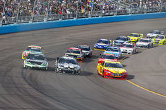 NASCAR 2013:  Sprint copo série AdvoCare 500 o 10 de novembro Foto de Stock Royalty Free