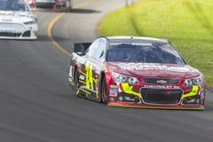NASCAR 2013:  Sprint copo série GoBowling.com 400 o 4 de agosto Imagem de Stock Royalty Free