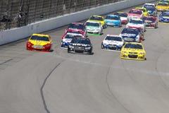 NASCAR 2013:  Sprint copo série Michigan 400 o 18 de agosto puro Foto de Stock Royalty Free