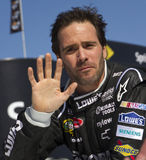 NASCAR Sprint Cup Champion driver Jimmie Johnson Stock Images