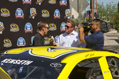 NASCAR Sprint Cup Chase driver Matt Kenseth Royalty Free Stock Image