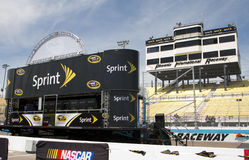 NASCAR Sprint Cup Driver Introduction Stage Royalty Free Stock Image