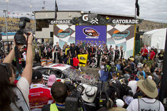 NASCAR Sprint Cup Kevin Harvick in Victory Lane Stock Photography