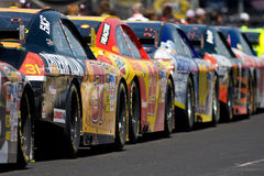 NASCAR  Sprint Cup Series Aarons 499 Apr 25 Stock Images