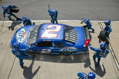 NASCAR Sprint Cup Series Aarons 499 Apr 26 royalty free stock image